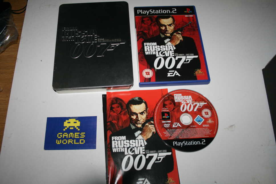 007 From Russia with Love (With Steel Case)