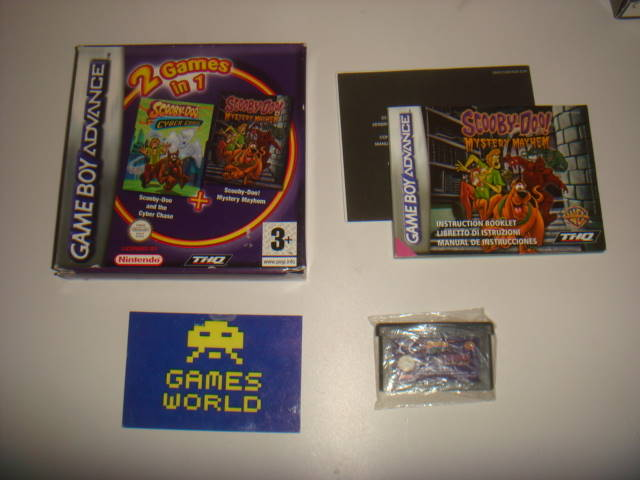 2 Games in 1: Scooby Doo Cyber Chase / Mystery Mayhem