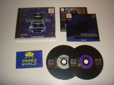 Beatmania & 2nd Mix (Japanese Import)