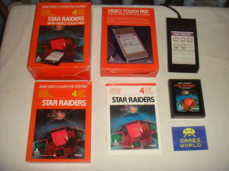 Star Raiders with Touch Pad