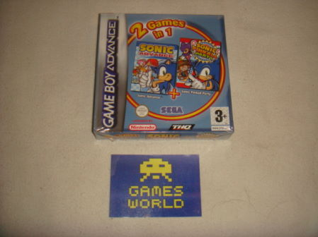 2 Games in 1: Sonic Advance & Sonic Pinball Party