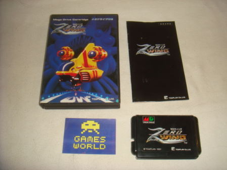 Zero Wing (Japanese Import)