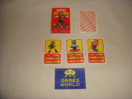 Nintendo All Stars Battle Cards