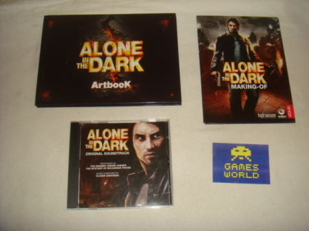 Alone in the Dark Art Book, CD and DVD