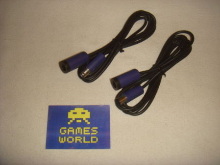 Game Cube: 2x Pad Wire Extensions
