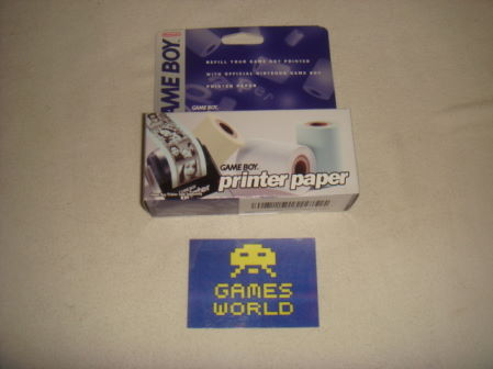 Game Boy Printer Paper Rolls