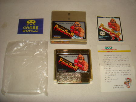 Punch Out: Gold Competition Cart