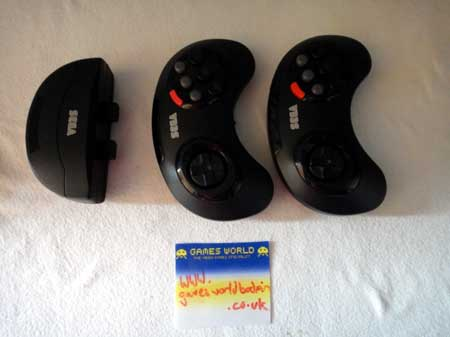 Megadrive 6 Button Wireless Pads