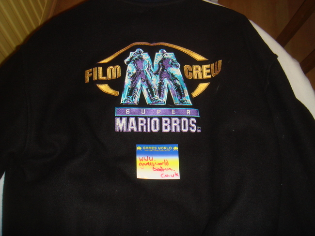 Mario Bros: The Movie Film Crew Jacket