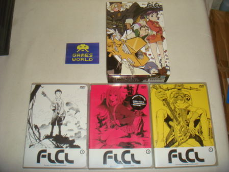 FLCL Fooly Cooly 1-3 Box Set R1