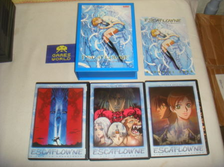 Escaflowne The Movie Ulimate Edition R1