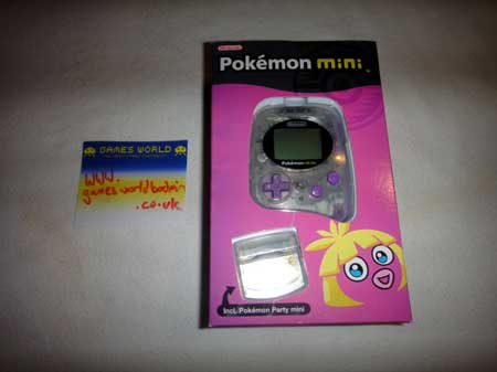 Pokemon Mini Console: Smoochum