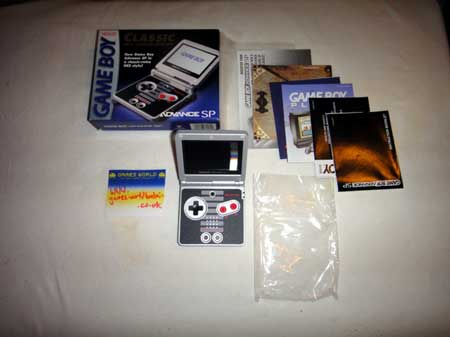 Game Boy Advance SP: NES Edition