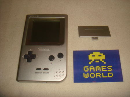 Game Boy Pocket: Silver