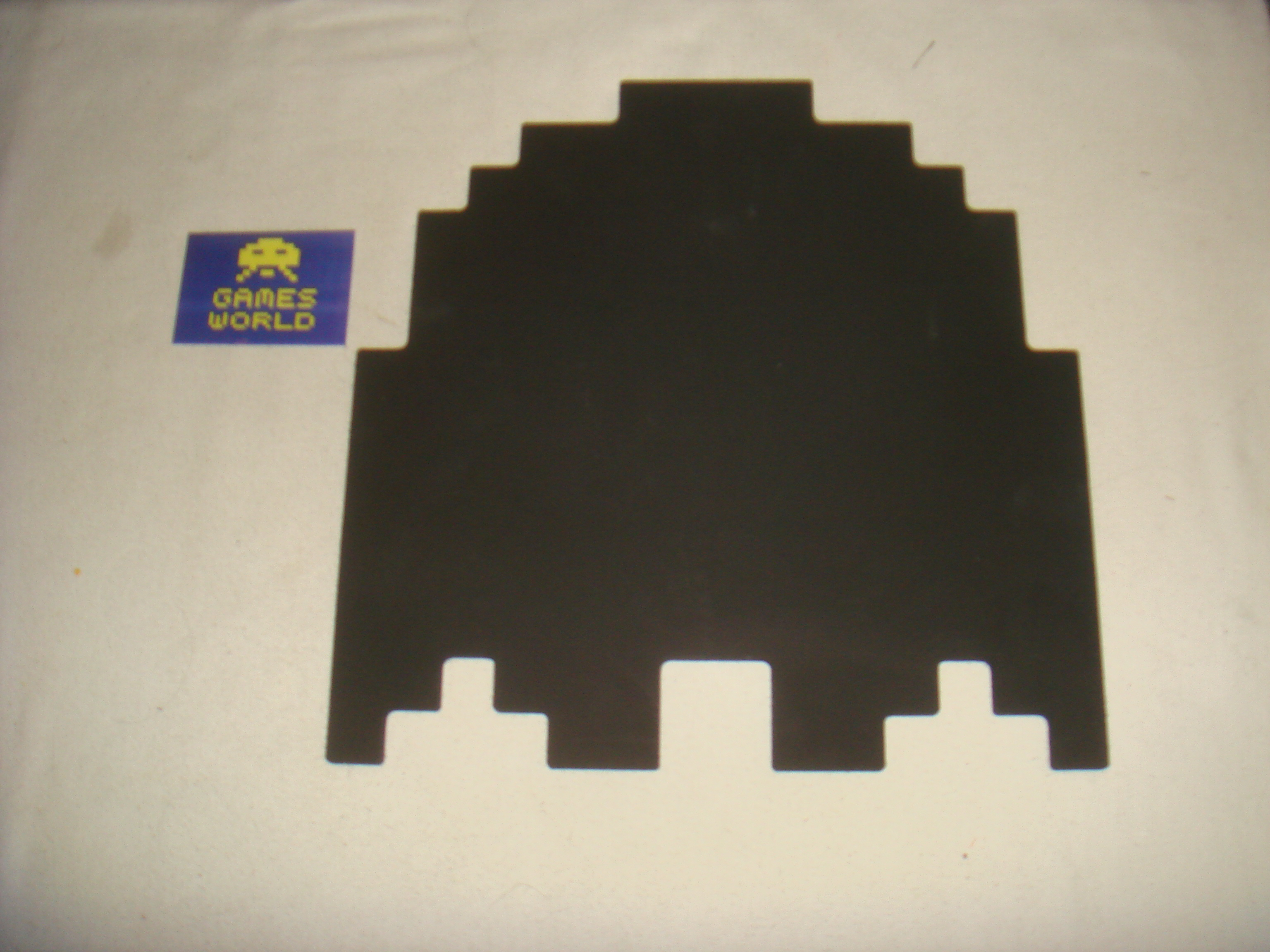 Pac-Man Ghost Chalk Board