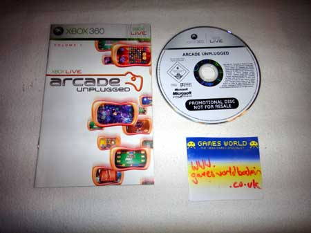 Xbox Live Arcade Unplugged Vol 1