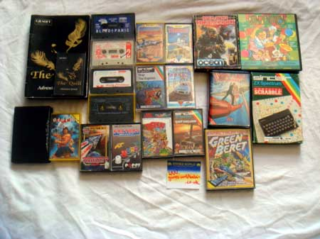 Bundle of 20 Spectrum Games