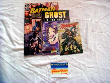 Ghost in the shell + Appleseed Comics