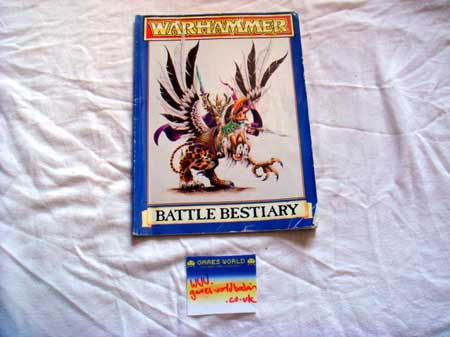 Warhammer Battle Bestiary Book