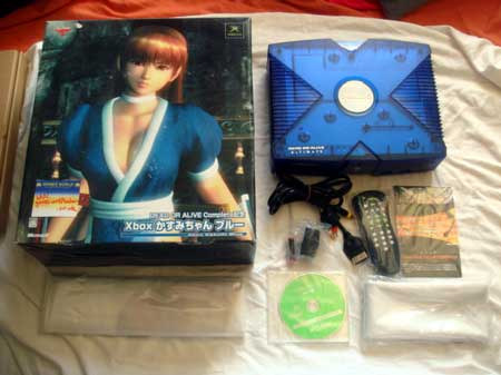 Japanese Import Dead or Alive Xbox Console