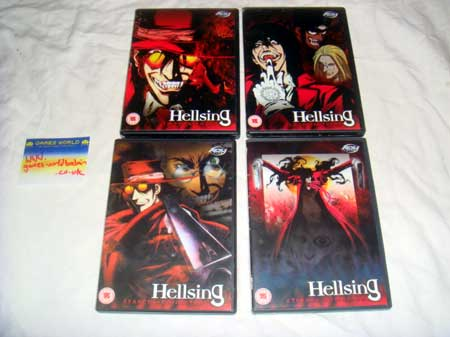 Hellsing 4 DVD Set R2
