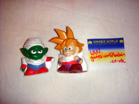 Dragon Ball Figures x2