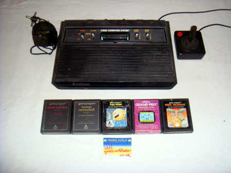 Atari 2600 'Darth Vader' Version