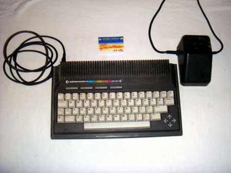 Commodore Plus 4 console
