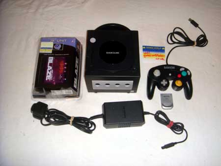 Nintendo Game Cube Console (Black)
