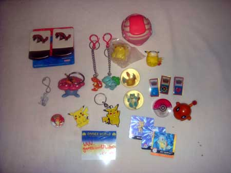 Bundle of Pokemon Toys