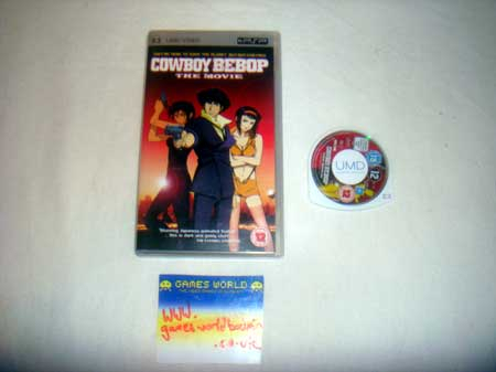 Cowboy Bebop: The Movie UMD