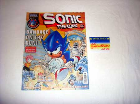 Sonic The Comic No 164