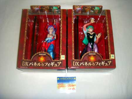 Darkstalkers Lilith & Morrigan Bookends