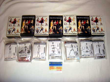 Final Fantasy Trading Arts Vol 2 Complete Set of 7