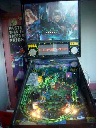 Sega Batman Forever Pinball Machine