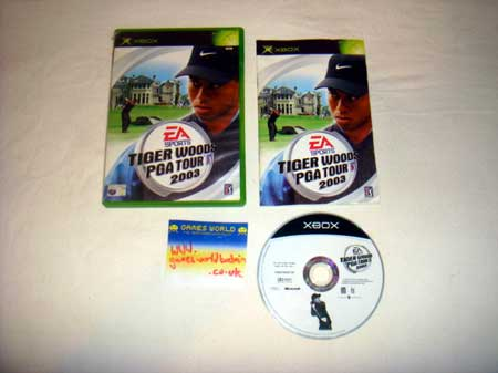 Tiger Woods PGA Tour 03