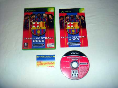 Club Football 2005: Barcelona