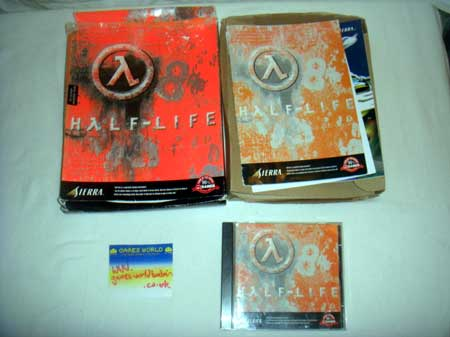 Half Life Big Box Version