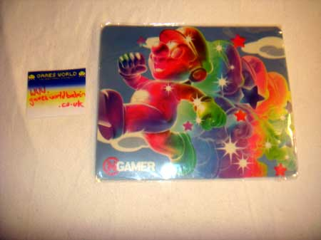 Mario Galaxy Mouse Mat