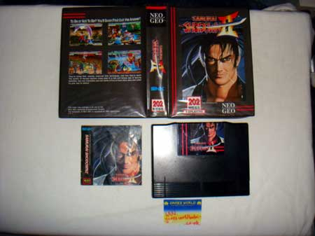 Samurai Shodown 2 AES English