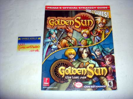 Golden Sun 1 & 2 Guide