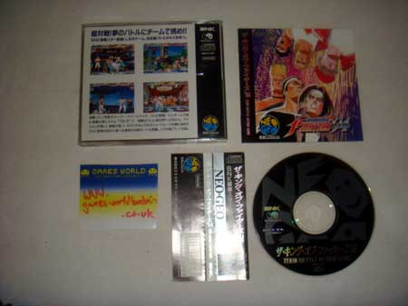 King of Fighters 94 CD