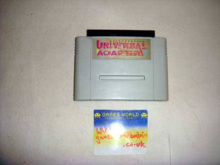 Nintendo Snes Import Adaptor