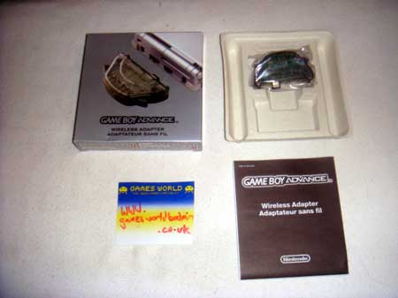 Game Boy Advance Wireless Adaptor