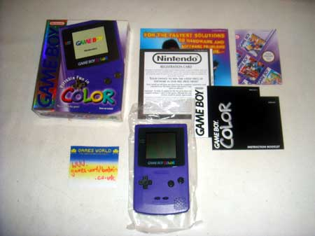 Game Boy Color: Purple