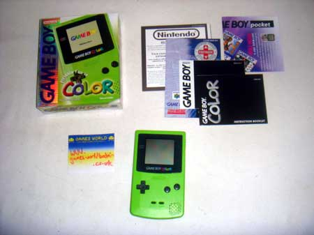 Game Boy Color: Green
