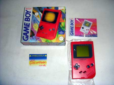 Game Boy: Red