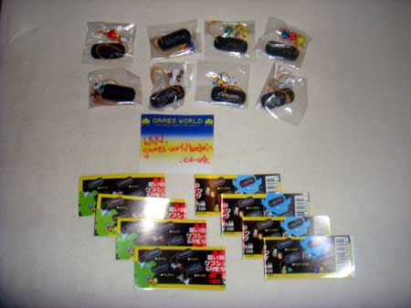 Namco Phone Strap Collection