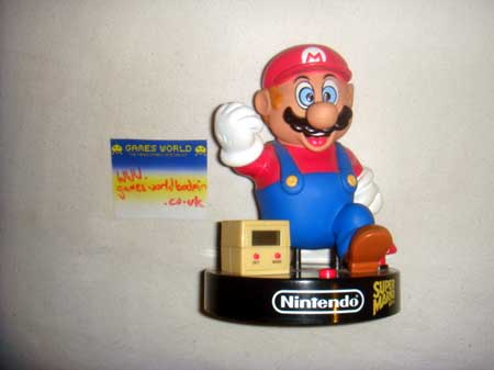 Nintendo Mario Alarm Clock - Click Image to Close