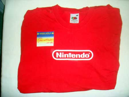 Nintendo T Shirt XL